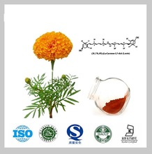Free Shipping High quality plant extract Marigold extract 5% lutein 200g(China (Mainland))