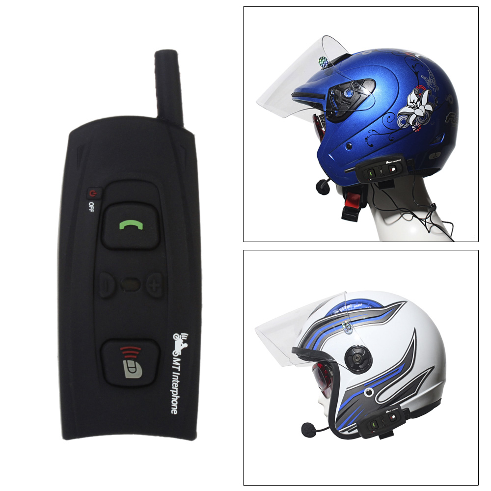 Hands Free Motorcycle Intercom Interphone Bluetooth 3.0 BT Headset Speaker Helmet Wireless Ski Helmets 1200M V2-1200(China (Mainland))