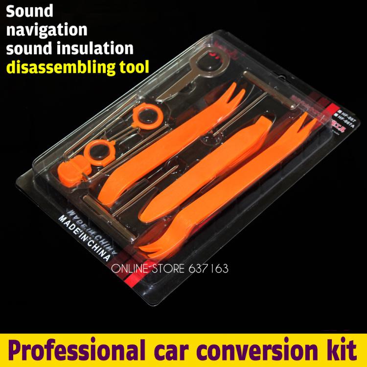 New Set 12pcs Car Radio Door Clip Panel Trim Removal Pry Tool For BMW E46 E60 E90 F01 F30 F20 F10 F15 F13 M3 M5 M6 X1 X3 X5 X6(China (Mainland))