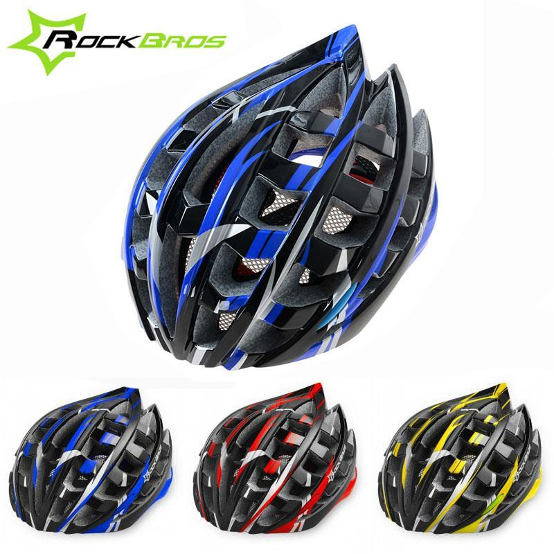 RockBros Outdoor Sport Bicycle Ultralight Racing Helmets Road Bike MTB Cycling Safety Helmet For Adults & Teenagers, 3 Colors(China (Mainland))