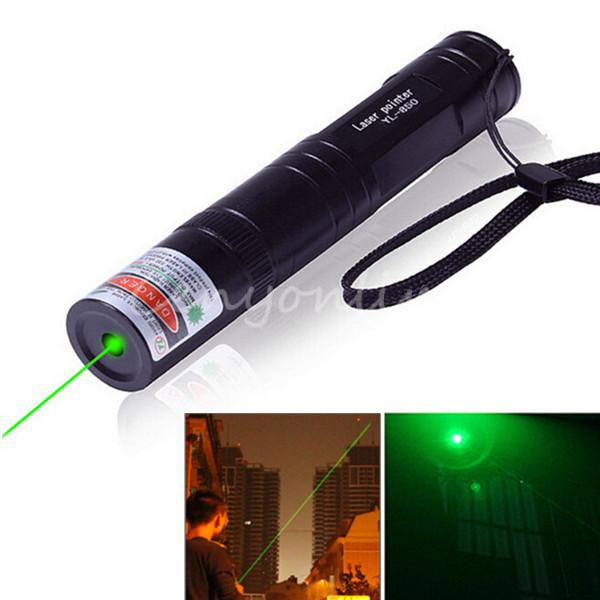 Top Quality Green Laser Pointer Light Pen 532NM 5mW High Power Match Visible Beam Projection Screen Lightweight Lanyard(China (Mainland))