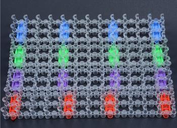 Новый 2015 мода резинкой ткацкий станок ткача комплект для DIY удлиненные вязальные машины браслетов ткачество кадров полосы подключить