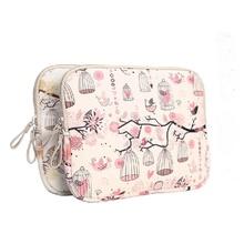 Pink Brids 13 inch Laptop Bag Fashion  Computer Case 13.3″ Faux Leather Bag For tablet laptop 13 inch funda portatil