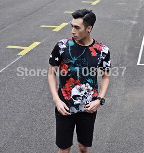 Мужская футболка --- 2015 , LM0471 футболка мужская neil barrett fa01 2015