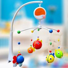 Музыка вращающийся кровать bell для младенцы игрушка ночники bell младенцы погремушки новорожденного 3 — 6 месяцев младенцы мобильных телефонов игрушки