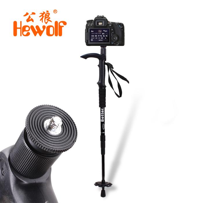2015 best outdoor folding walking hiking stick muletas trekking poles carbon Ultralight telescoping walking cane Camera frame(China (Mainland))