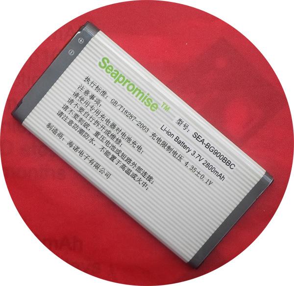 Livraison gratuite 5 pcs lot mer EB BG900BBC EB BG900BBC batterie pour SAMSUNG galaxy I9600 s5, I9602, I9700, G9006v, G9008v, G900, G9105, G910(Hong Kong)