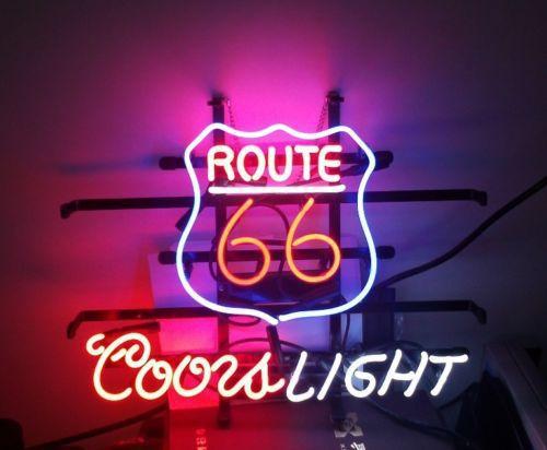 Неоновое освещение Neon sign 66 Coors неоновое освещение m