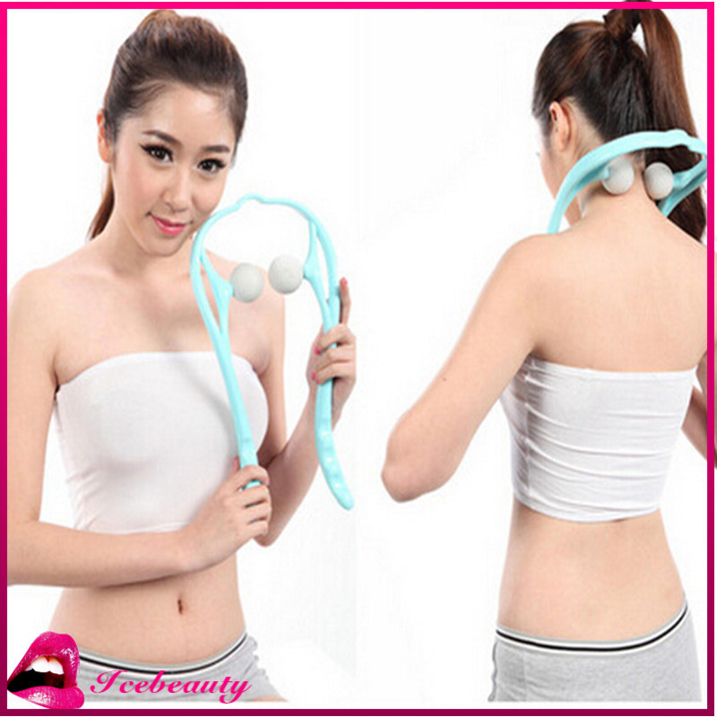 2PCS/LOT Women Neckline Slimmer Portable Neck Line Exerciser Thin Jaw Chin Massager Body Message Healthy Care Relaxation(China (Mainland))
