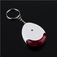 1pcs Sound sonic Voice Control Key Finder Locator Chain Keychain for the keys white wholesale