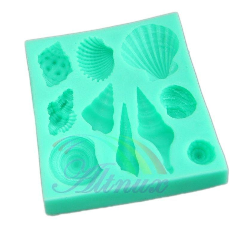 Sea Shell Cake Decorating Molds