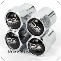 4caps/set mini-type automobile wheel tire tyre valve cap cover with oz car brands logo emblem badge