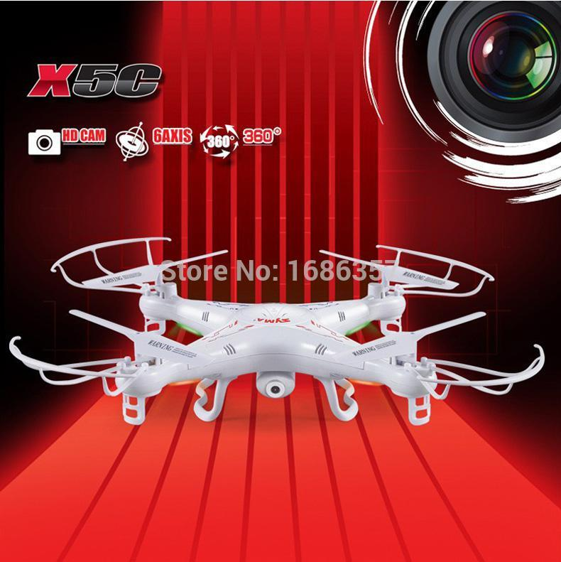2015 Sale Drones Quadcopter With New Version Syma X5c 2.4ghz 4ch Hd Fpv 6 Axis Rc Helicopter Gyro 2gb Tf Card With 2mp Rm475(China (Mainland))