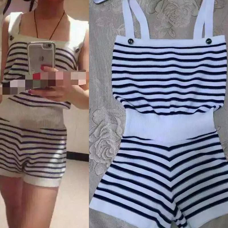Женский комбинезон Women Striped Jumpsuits 2015 Sexy Jumpsuit 2015 женский комбинезон women striped jumpsuits 2015 sexy jumpsuit 2015
