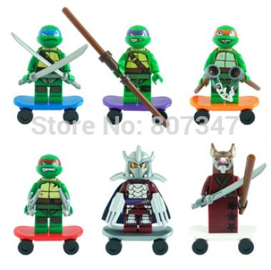 Детское лего Bela Ninja Minifigures 10200/10205 10200-10205 недорого