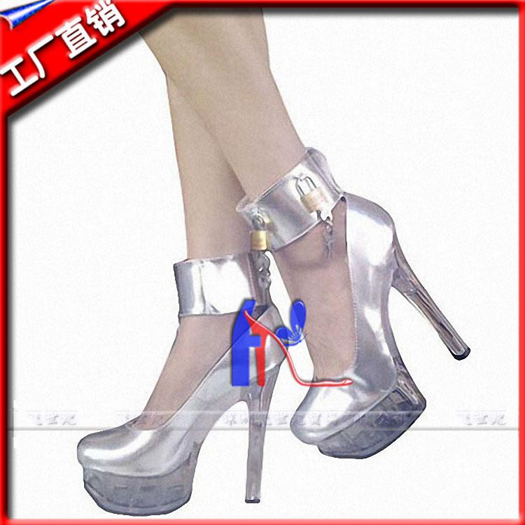 2015 Top Fashion Rushed Basic Shoes Women Flats Fly- Zhao Wei Baotou Comes Bottom Shoe Crystal Show Bare Metal Decorative Shoes(China (Mainland))