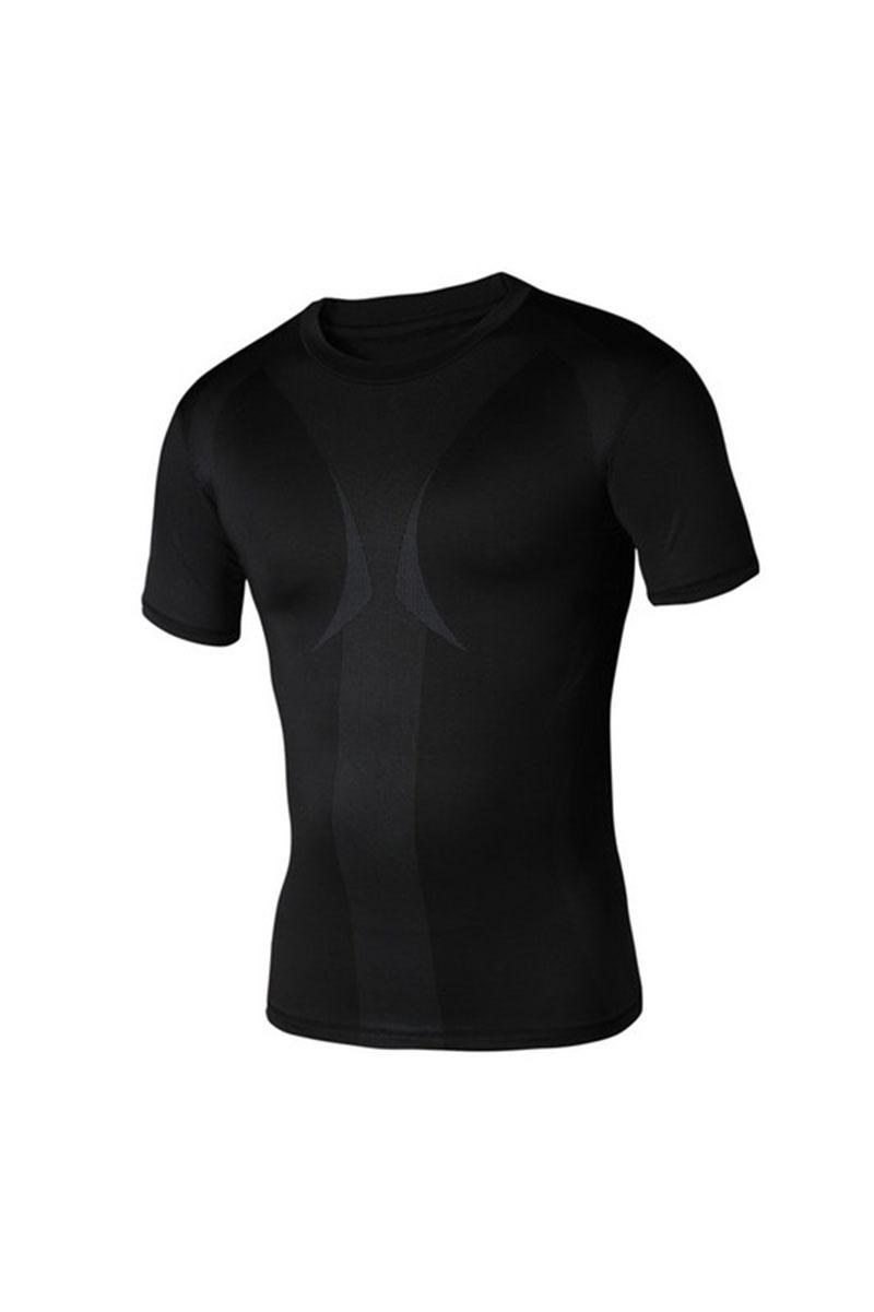 Bodybuilding! MMA lycra compression men t-shirt short sleeve/gym shirt/mens hip hop clothing/mens undershirt sport 0098#(China (Mainland))