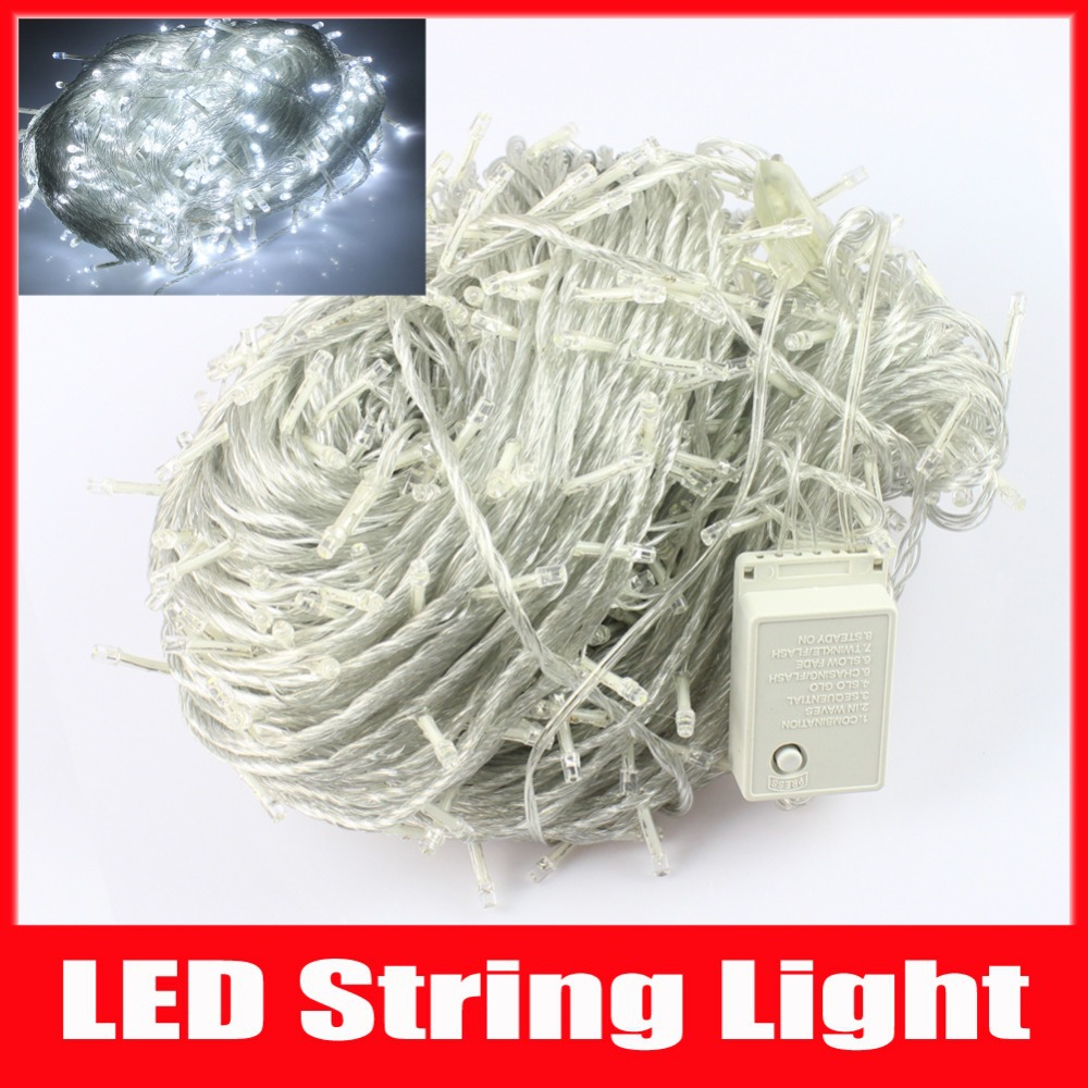 Holiday Light LED Christmas Lights 100M 600Leds AC220V 7colors RGB white Led String light For Christmas Tree light(China (Mainland))