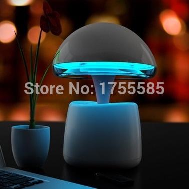 Bulb lights Wireless Bluetooth speakers Creative Subwoofer Protable Mini TF Card FM Audio Night Lamps Intelligent Alarm Clock(China (Mainland))