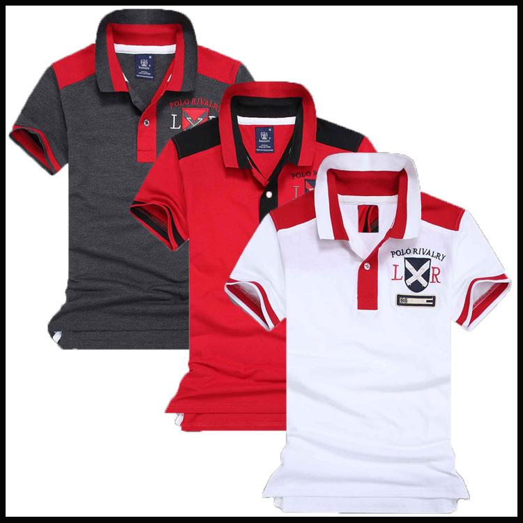 Free shoping brand polo Menspolos Fashion 2015 SummerCotton polo Casual Slim Short Sleeve For Men's Clothing Brand polo 45(China (Mainland))