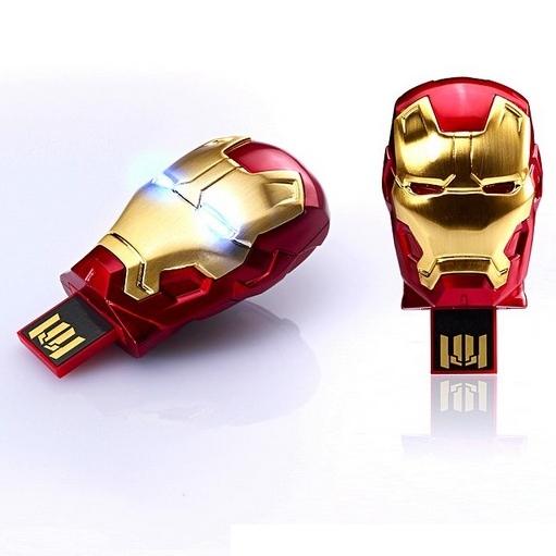 Iron Man Mini USB Flash Drive 8GB 16GB 32GB 64GB 128GB 256GB 512GB 1TB 2TB Pen Driver Pendrive Flash Memory Card Stick Key Gift(China (Mainland))