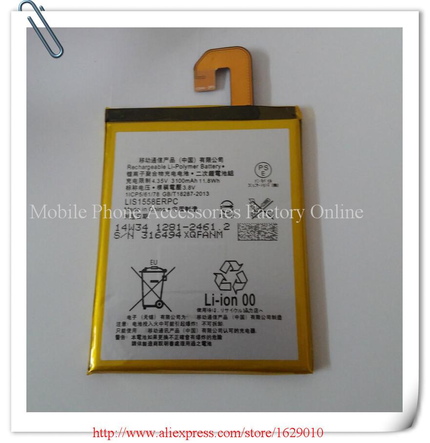3200mAh Highly Original Mobile Phone Replacement Battery Batery For Sony Xperia Z3 L55 L55T L55U Verizon z3v Bateria LIS1558ERPC(China (Mainland))