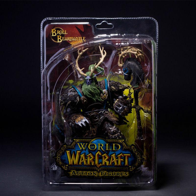 Фигурка героя мультфильма DC WOW Warcraft 2 DC2 7inches wow где earthroot у орды 2 4 3