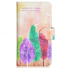 Sell like hot Hwang Purple Tree Trees Mangrove Card Slot PU Leather Flip Case Cover For Xiaomi Millet MIUI M3