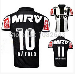 New Atletico Mineiro jersey 2016 MADE thailand LUAN LUCAS PRATTO.camisetas de futbol Atletico mineiro home football jersey(China (Mainland))