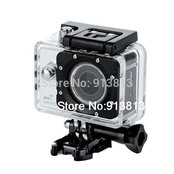 SJCAM SJ5000 WiFi Action HD Camera 14MP Novatek 96655 1080P Waterproof Silver(China (Mainland))