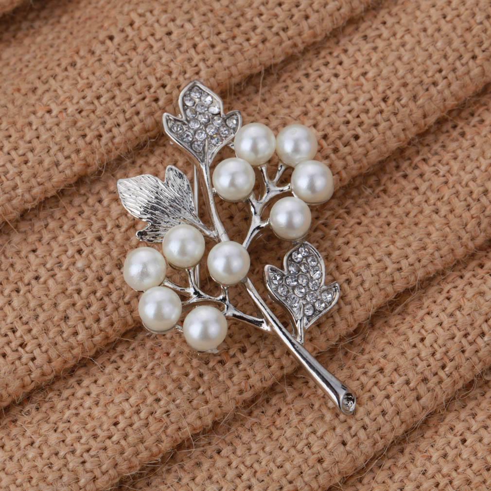 Yazilind бесплатная доставка подарок свадьба брошь хрустальный цветок перл брошь-пен женщины брошь ювелирные изделия