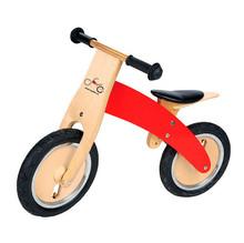 Brand NEW Wood Red Children Toddler's Training Balance Bike Kid's Bicycle For 2 to 6 years(China (Mainland))