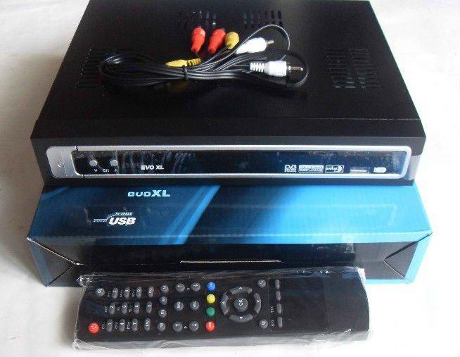 Free shipping,South American Digital Satellite Receiver AZBOX EVO XL satellite receiver DVB-S(China (Mainland))