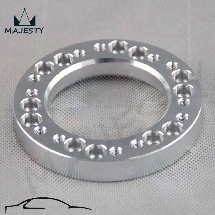 Silver STEERING WHEEL HUB ADAPTER KIT FIT NARDI/PERSONAL/OMP/MOMO JDM(China (Mainland))