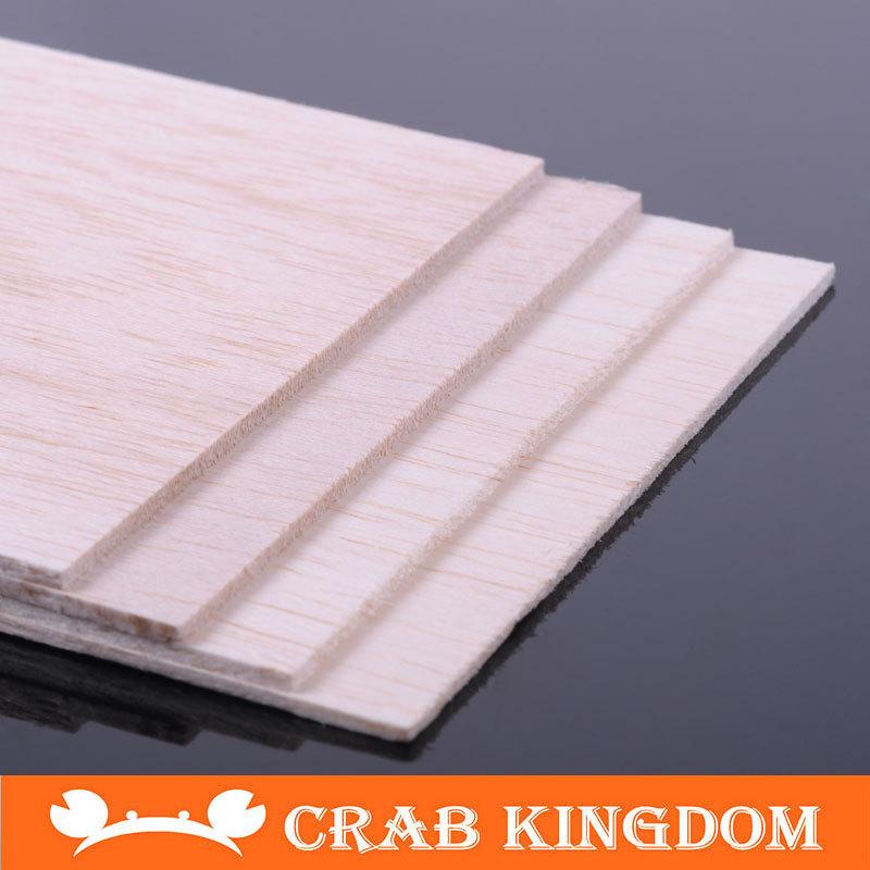 Licht hout modelvliegtuigen materialen zand tafel bouwplaat licht hout plaat balsahout vliegtuig 5 soorten 10 stuks/veel(China (Mainland))