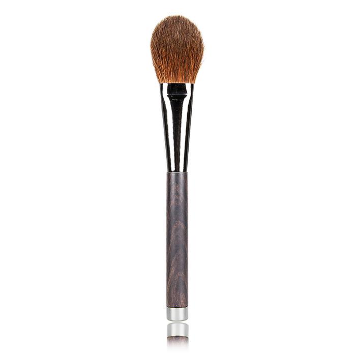H05 Makeup Blush Brush Ebony Handle Japan Imports 100% pure red Chinchilla Hair Brush for Makeup Tools Free Shipping(China (Mainland))