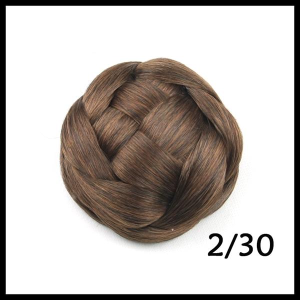 Braided Hair Bun Piece 50g Wholesale Braid Hair Bun