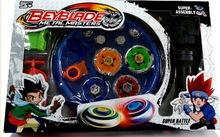 Free Shipping 4pcs/set Beyblade Arena Spinning Top Metal Fight Beyblad Beyblade Metal Fusion Children Gifts Classic Toys(China (Mainland))