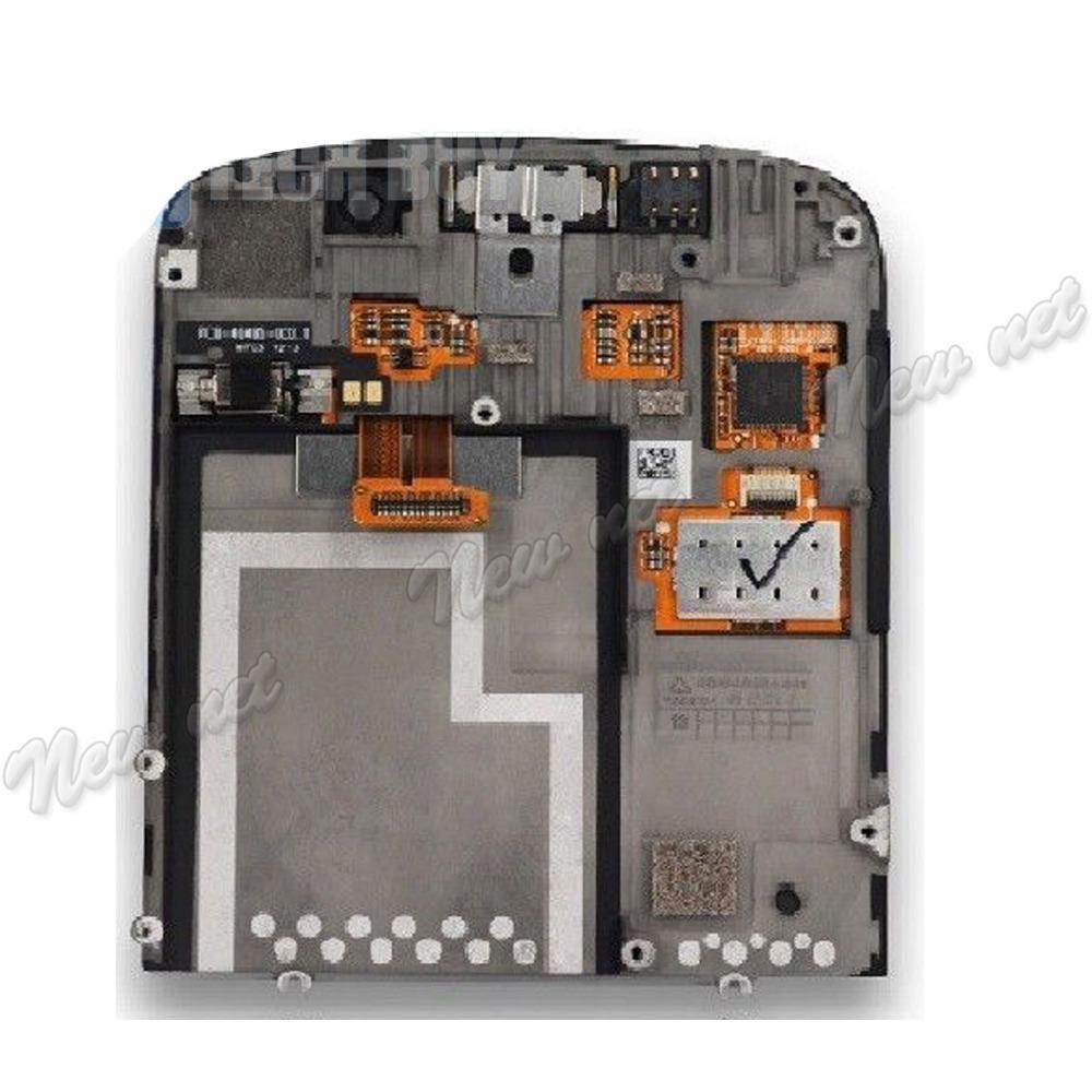 Горячая распродажа! новое поступление жк-дисплей с сенсорным экраном дигитайзер ассамблеи для ежевики Q10 черный цвет бесплатная доставка