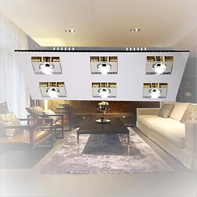 Flush Mount LED Modern Ceiling Light For Living Room Light Fixtures,Luminaira Lustres De Sala Teto(China (Mainland))