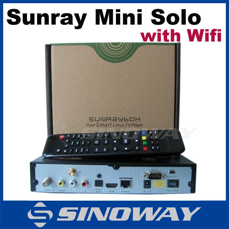 5pcs Sunray mini solo wifi internal satellite receiver Support original vu solo2 software better than mini vu solo(China (Mainland))