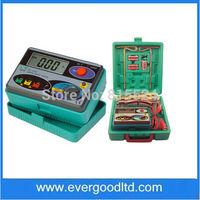 Measuring Range 0-2000ohm Real Digital Earth Tester Dy4100 Ground Resistance Tester Meter