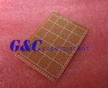 10pcs DIY Prototype Paper PCB Universal Board 5*7 cm 5*7 cm