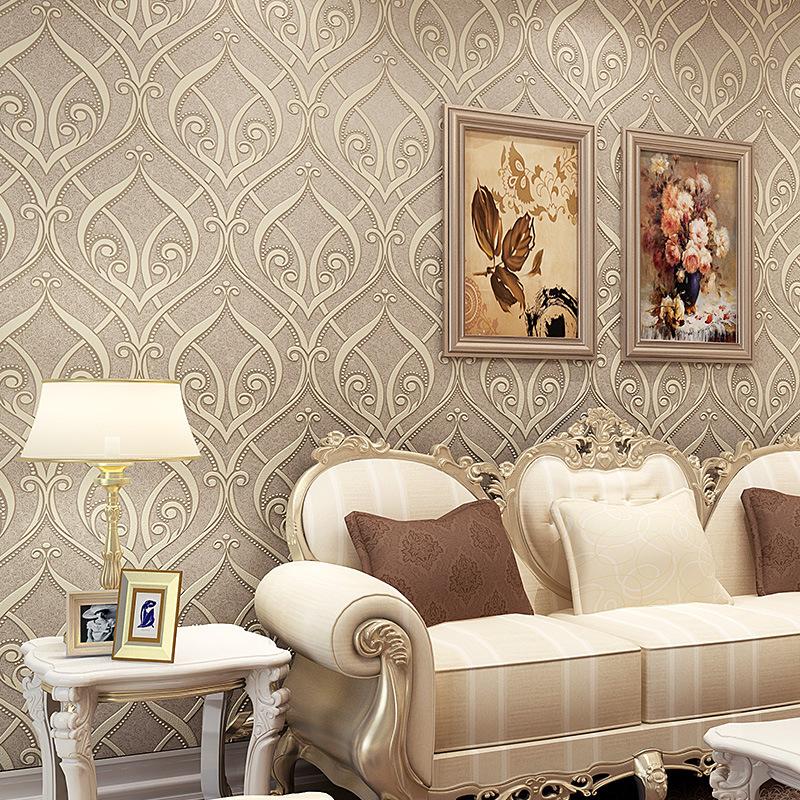 Luxury Crystal Wallpaper European Luxury Crystal 3d