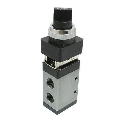 MSV-98322TB 2 Position 3 Way Selector Knob Actuator Mechanical Valve(China (Mainland))