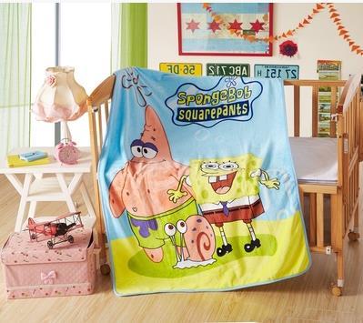 Ребенка фланель ткань мультфильма одеяло 2 слоя утолщение мягких ребенка детское одеяло осень зима сезона 100 x 140 см 600 г 003b