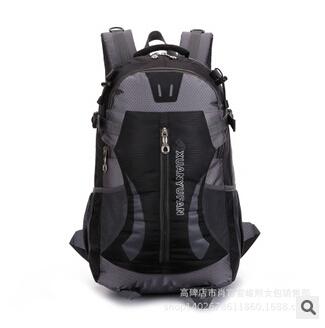2015 new fashion campaign Mountaineer backpack Waterproof nylon men's women travel backpacks travel camping equipment rucksack(China (Mainland))