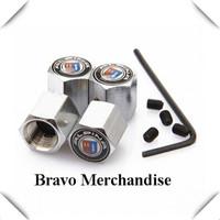 4caps/set cars accessaries  wheel tire tyre valve caps stem rims anti-theft covers with alpina car logo brands emblem badge