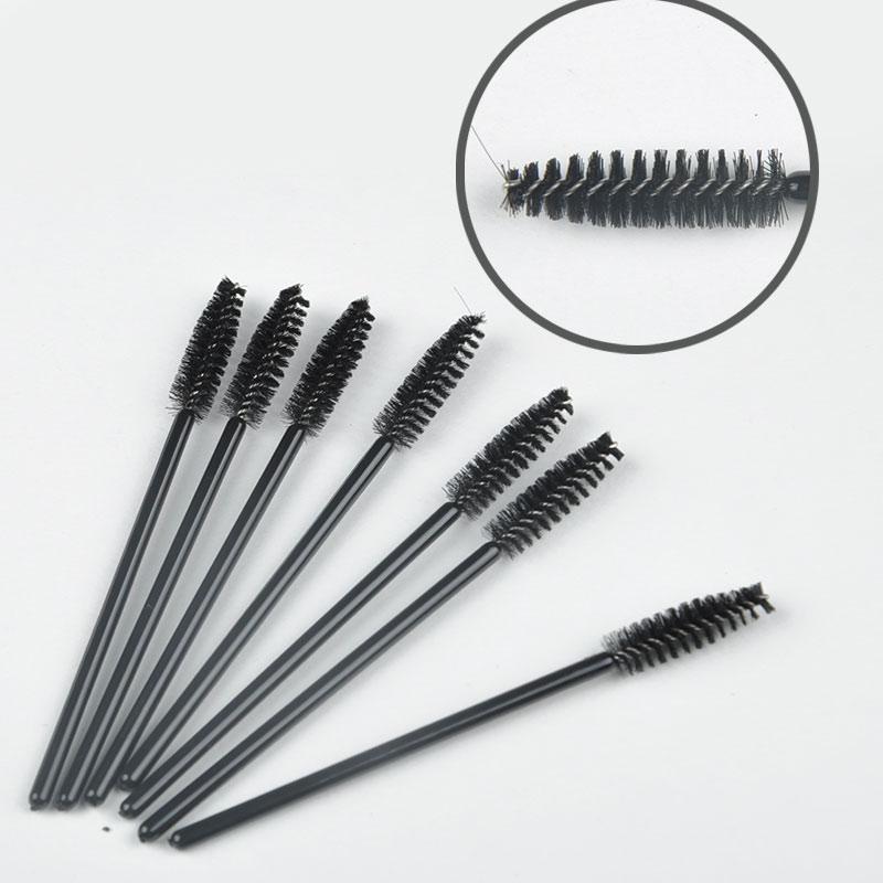 2015 NEW Hot sale 50 pcs/Set One-Off Disposable Eyelash Brush Mascara Make Up Tool Wands Lash Curler LS*HJ0207#A3(China (Mainland))