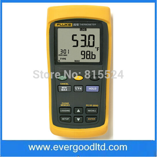 Fluke Digital Thermometer Input Digital Thermometer